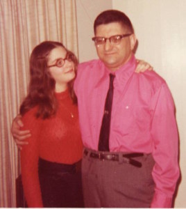 My dad wore a hot pink shirt to my Bat Mitzvah when men were still mostly wearing only white button downs.